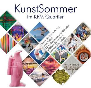 KunstSommer im KPM Quartier.