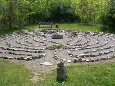 Ellen Essers Labyrinth in der Hasenheide