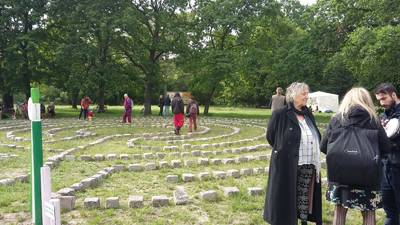 Ellen Essers Labyrinth in der Hasenheide