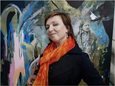 VERNISSAGE Zsuzsa Klemm: XIRTAM - in der Galerie KungerKiez