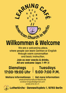 Learning Café - American Church Berlin