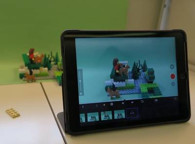Stop-Motion-Legoworkshop : Trickfilme erstellen