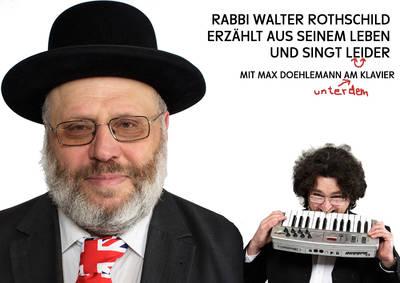 Ein Rabbi erzählt aus seinem Leben und singt! Leider Lieder!...