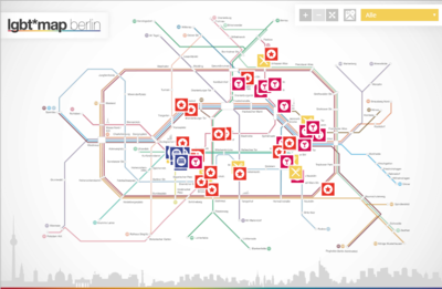 LGTB Map -Travelzoo