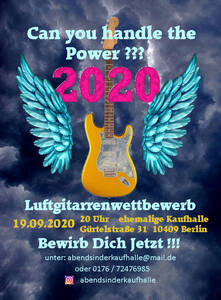 Luftgitarrenwettbewerb 2020