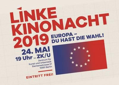 Linke Kinonacht 2019 u.a. mit Vizediktator