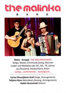 Retro-Gruppe the malinka band