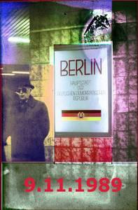 Historisches Originalfoto (1986), künstlerisch verfremdet und rekonstruiert von HuD vunz