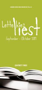 Lesefestival in Reinickendorf vom 5.9-25.10.2017