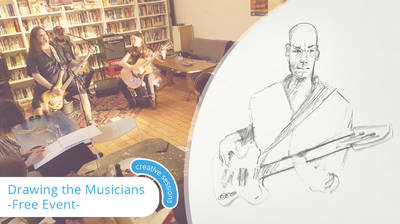 Music & Drawing Session