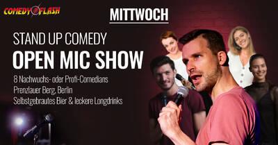 Comedyflash - Gratis STANDUP COMEDY am Senefelderplatz im Pr...