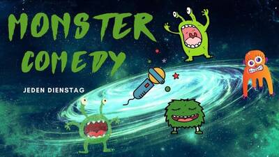 """Monster: Stand up Comedy im Comedy Club """"Mad Monkey Roo..."""