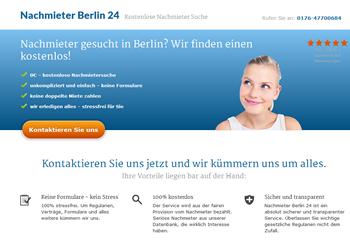 Nachmieter gesucht Berlin? Kostenloser Service!