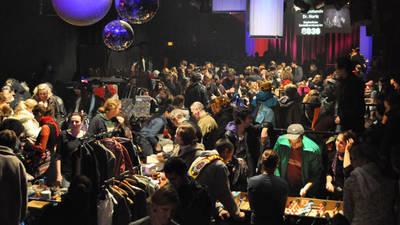 Nachtflohmarkt mit Dj und kostenloser Sozialberatung