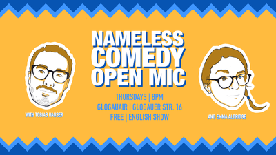 Nameless Comedy Open Mic