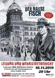 Babylon Berlin: Arne Jysch liest aus seinem Comicadaption De...