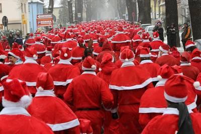 Michendorfer Nikolauslauf mit Zipfelmützenlauf