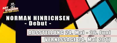 Ausstellung: Norman Hinrichsen - Debut -