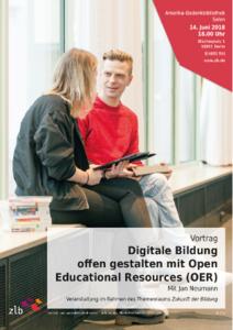 Digitale Bildung offen gestalten mit Open Educational Resour...