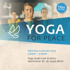 """""""Yoga for Peace"""" geführte Stunde, Vorerfahrung spi..."""