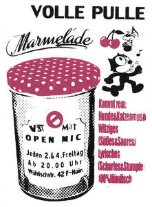 Volle Pulle Marmelade - OPEN MIC /Jamsession