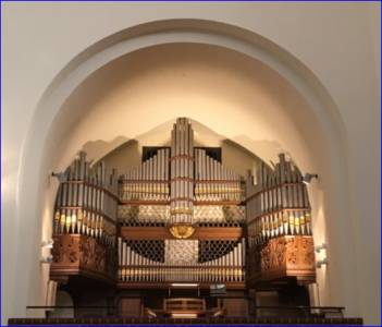 Neu sanierte Orgel in St. Marie
