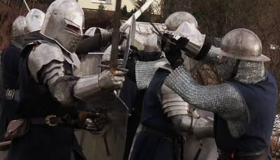 Trainiere mit echten Rittern der Berliner Rittergilde