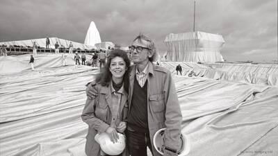 """""""Christo und Jeanne-Claude""""-Ausstellung im Palais ..."""
