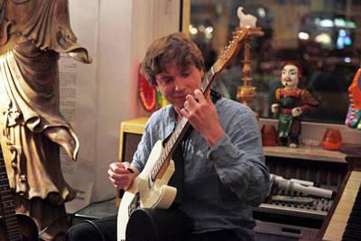 Paul Santner Solo-Konzert – akustische & elektrische Git...