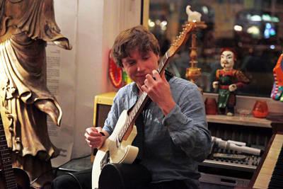 Paul Santner: Gitarre, Gesang