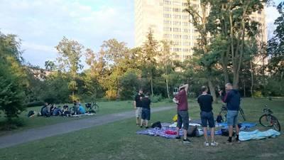 Werwölfe von Düsterwald im Preußenpark spielen