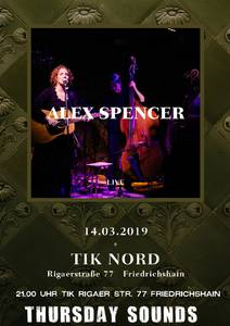 ThursdaySounds Konzert - Alex Spencer