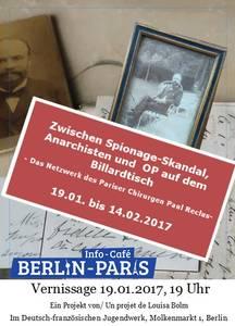 Vernissage/ Ausstellung Paul Reclus - Zwischen Spionage-Skan...