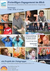 "Fotoausstellung ""Freiwilliges Engagement im Blick""..."