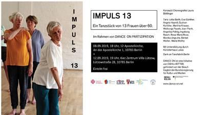 IMPULS 13 - ein Tanzstück von 13 Frauen über 60