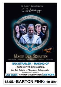 MAGIE DER SCHATTEN - Buchtrailer - Making of - Blick hinter ...