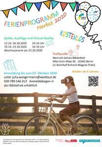 Einladung zum kostenlosen Ferienprogramm in Charlottenburg-W...