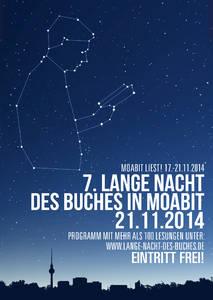 7.Lange Nacht des Buches in Moabit: Die Autorin Jenny Schon ...