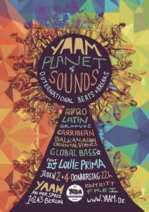 PLANET SOUNDS-  Die Global beats Party im Yaam