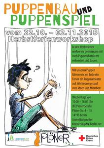 Puppenspiel & Puppenbau - Workshop (Herbstferien)