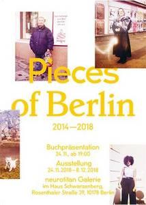 P I E C E S  O F  B E R L I N  2014-2018: Buchpräsentation &...