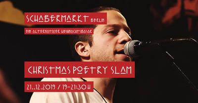 Christmas Poetry Slam am Schabermarkt
