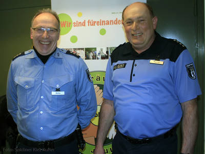 Bernd Wölke (links) und Eckart Mantei