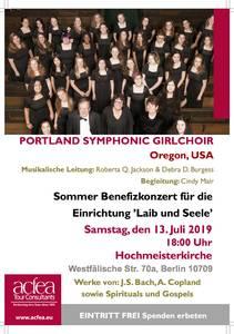 Portland Symphonic Girlchoir - Sommer-Benefizkonzert Hochmeisterkirche Berlin