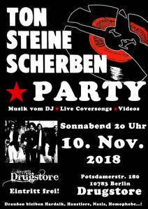 Ton Steine Scherben Party