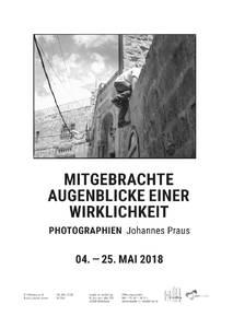 """Foto-Ausstellung """"Mitgebrachte Augenblicke einer Wirklichkei..."""