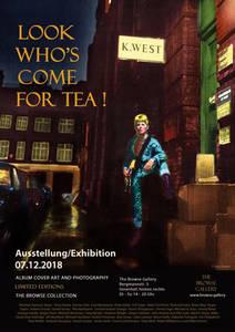 Ausstellungsposter David Bowie, Ziggy Stardust von Terry Pastor /Brian Ward
