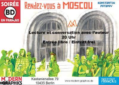 Comicabend auf französisch bei Modern Graphics Kastanienalle...