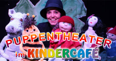 Puppentheater Boka im Kindercafé Kaulsdorf