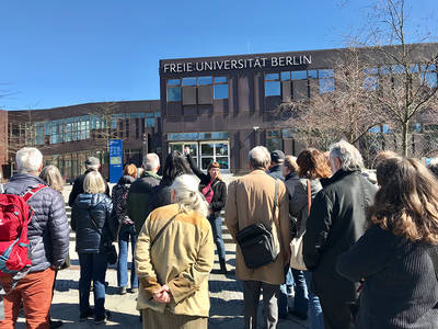 Campustour Freie Universität Berlin